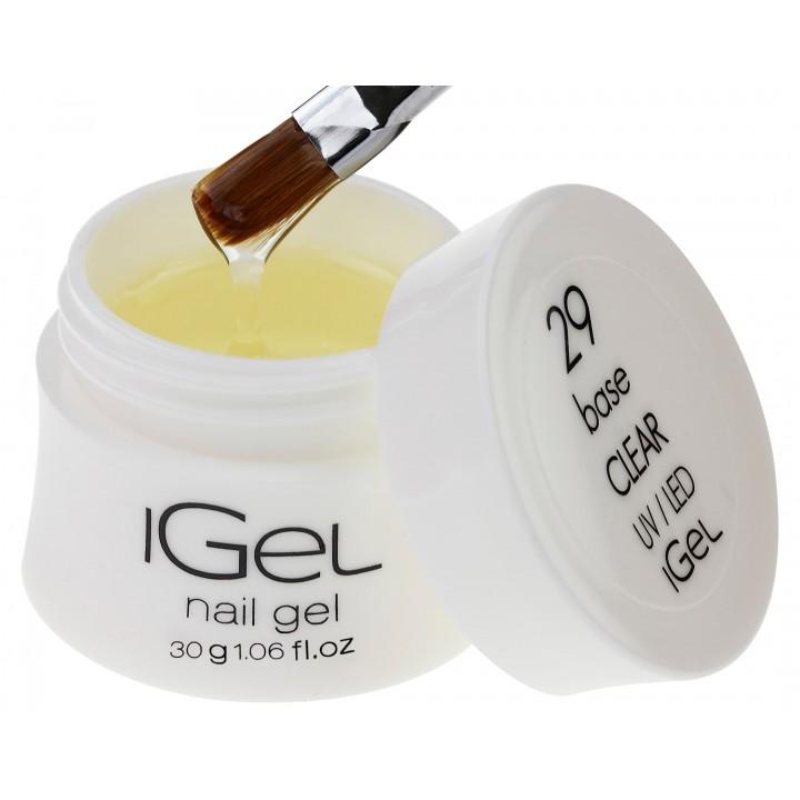 Базовый гель для ногтей iGel Base Gel Clear №29 30 гр