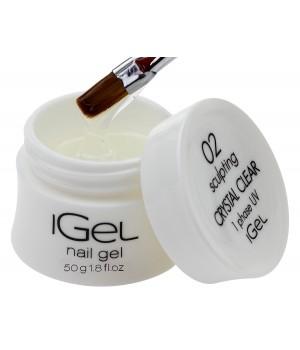 Гель для ногтей iGel Crystal Clear №02 50 гр