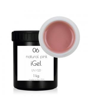 Гель для ногтей iGel Natural Pink №06 1 кг