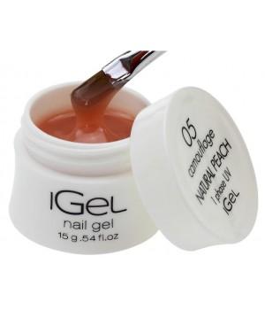Гель для ногтей iGel Natural Peach №05