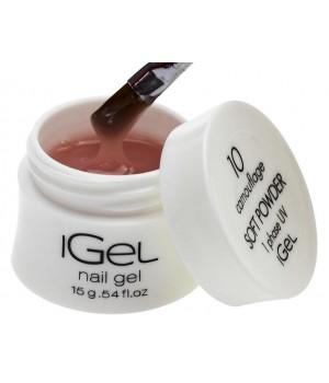 Гель для ногтей iGel Soft Powder №10