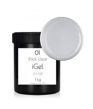 Гель для ногтей iGel Thick Clear №01 1 кг