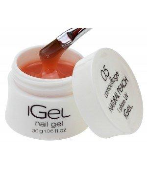 Гель для ногтей iGel Natural Peach №05 30 гр
