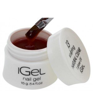 Гель для ногтей iGel Natural Clear №13 15 гр
