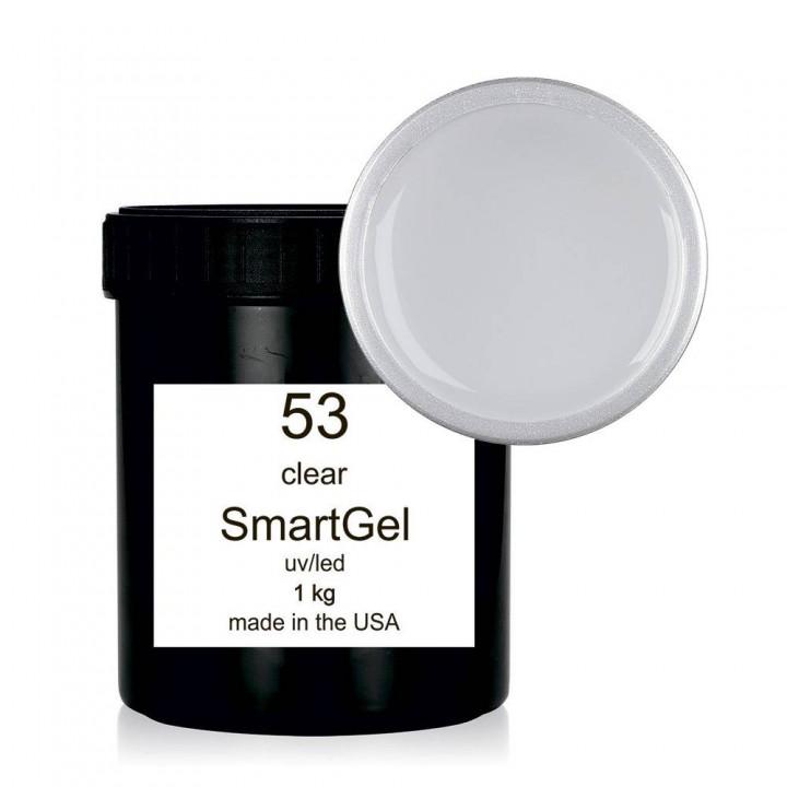 Гель для наращивания ногтей SmartGel №53 Clear 1 кг