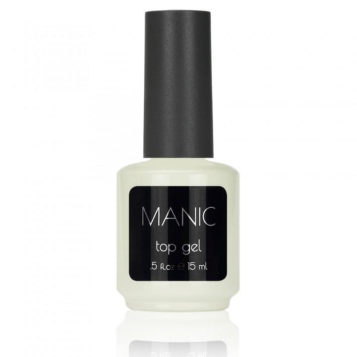 Топ гель для ногтей MANIC 15 мл с липким слоем