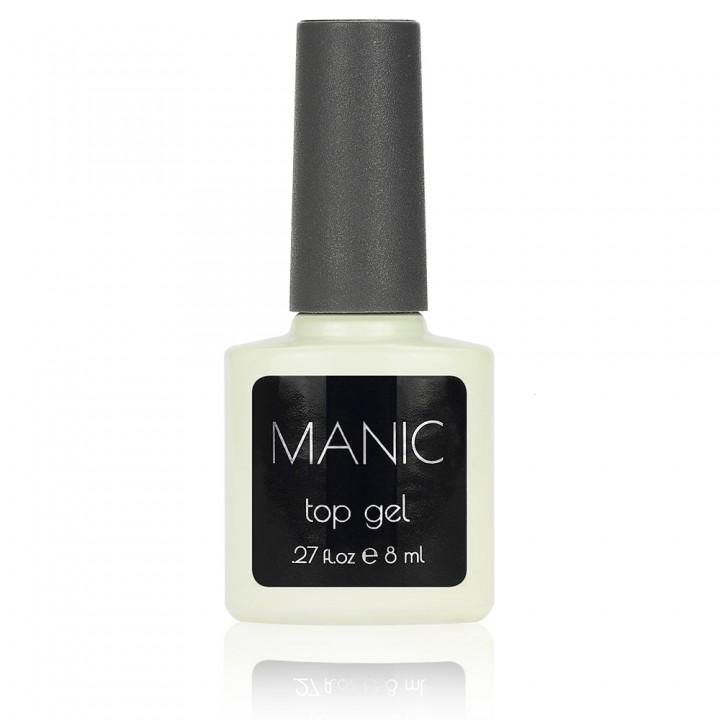 Топ гель для ногтей MANIC 8 мл с липким слоем