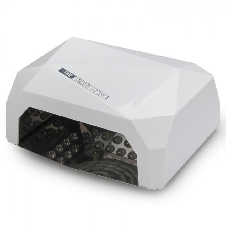 ОРИГИНАЛ! LED+CCFL гибридная лампа 36 Вт (Белая) с сенсором и таймером для геля, гель лака, шеллака