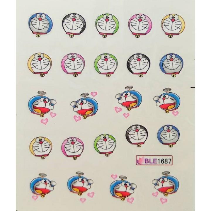 Слайдер дизайн для украшения ногтей Котики