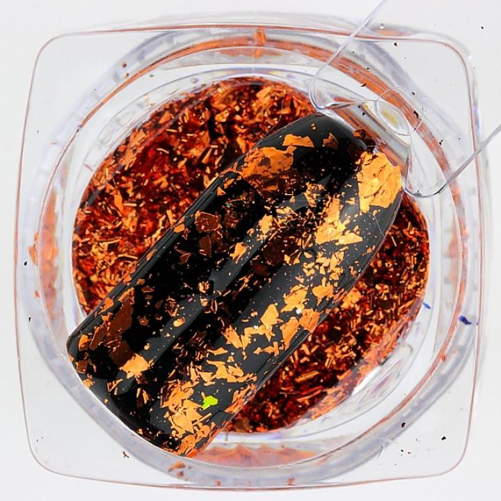 Платиновая Фольга для дизайна ногтей №04