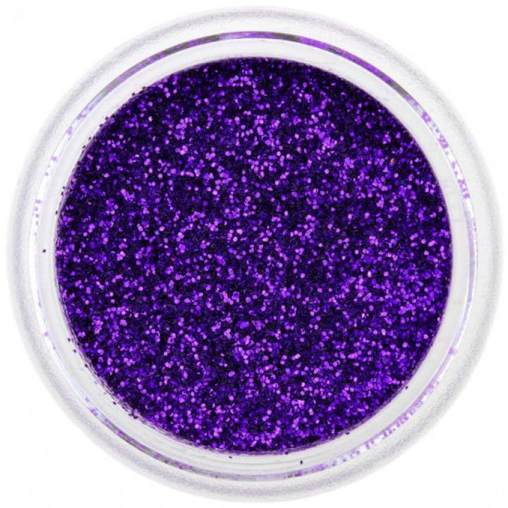 Блёстки для ногтей Фиолетово Синие №55