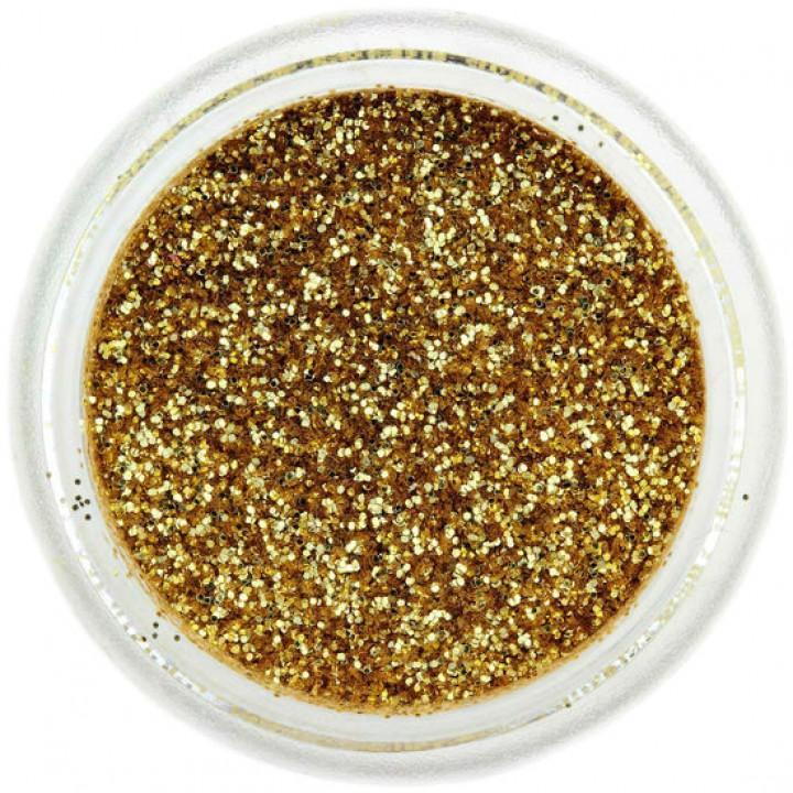 Блёстки для ногтей Янтарное Золото №12