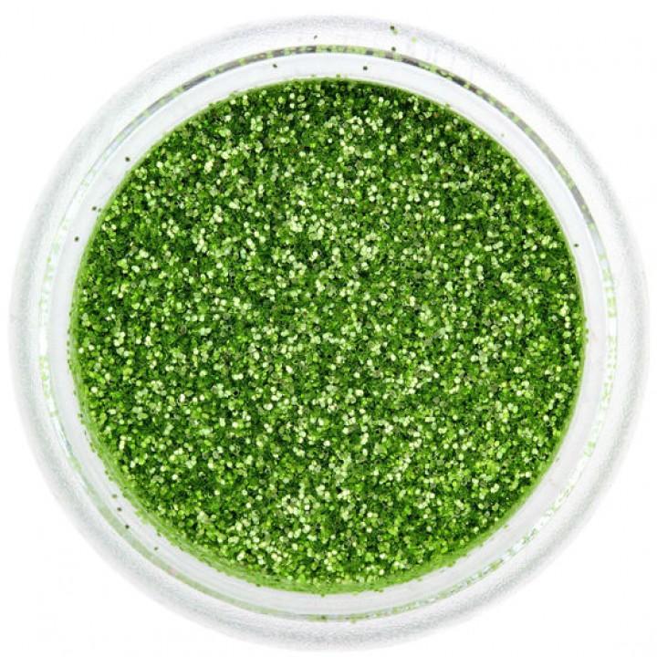 Блёстки для ногтей Зелёные Лайм №35