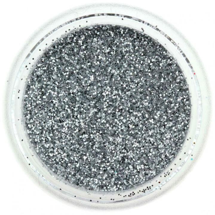 Блёстки для ногтей Серебро №01