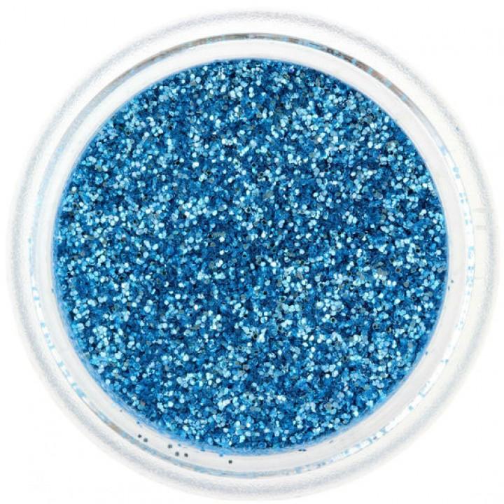 Блёстки для ногтей Сине Голубые №50