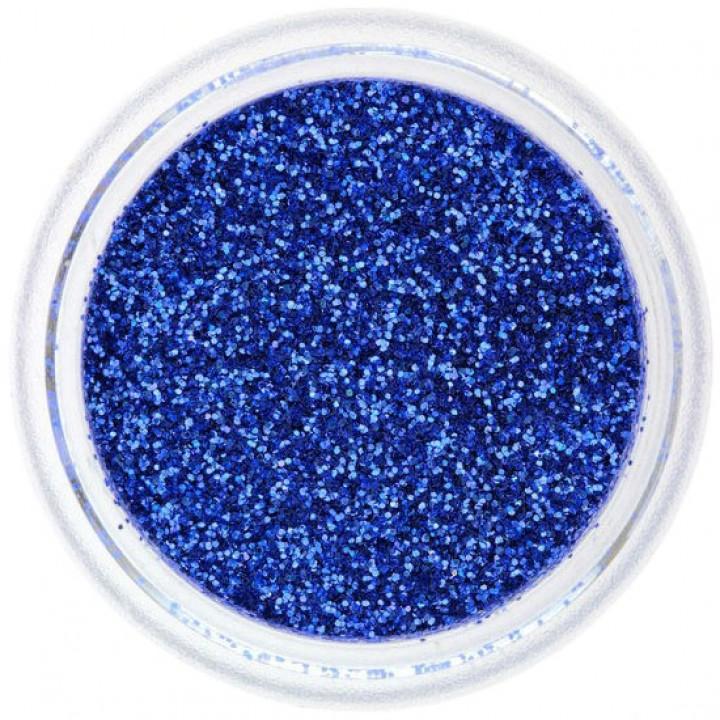 Блёстки для ногтей Синие №49