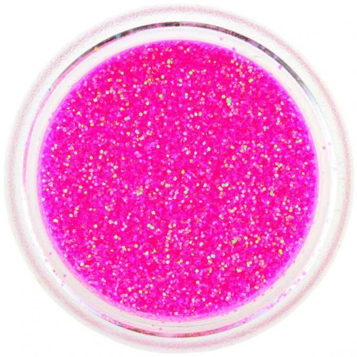 Блёстки для ногтей Розовые Голографические №78