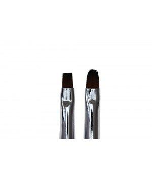 Кисть для моделирования и дизайна ногтей Flat #4 / Oval #6