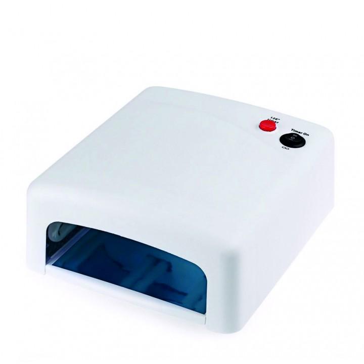 UV лампа для наращивания ногтей: геля, гель лака, шеллака 36 Вт № 818