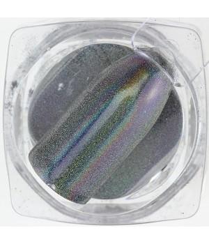 Зеркальная пудра Chrome №10 голографика