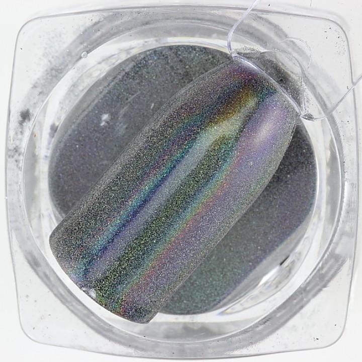 Зеркальная пудра для дизайна ногтей Chrome №10