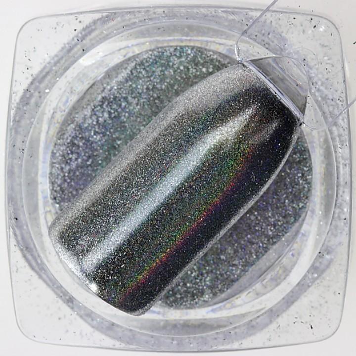 Зеркальная пудра для дизайна ногтей Chrome №21
