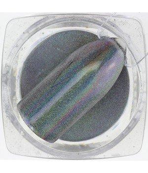 Зеркальная пудра Chrome №09 голографика
