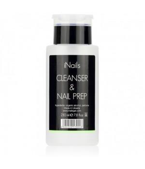 Обезжириватель Nail Prep&Cleanser iNails 230 мл.