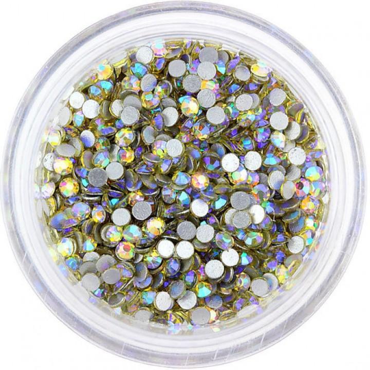 Стразы Crystal Jonquil AB 6ss 1.9-2.1 мм 100 шт для дизайна