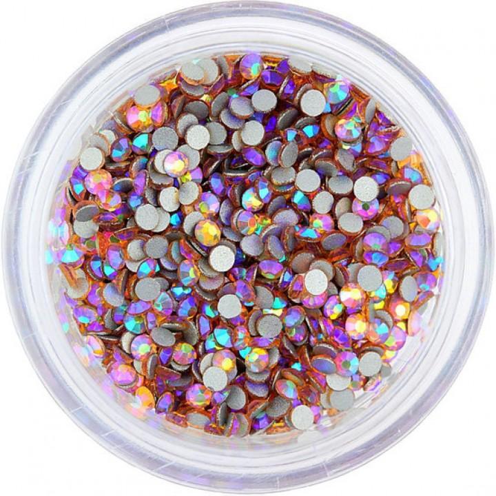 Стразы Crystal Lt Peach AB для дизайна 4ss 1.5-1.7 мм 100 шт